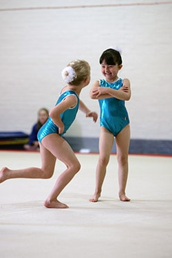 Young gymnasts